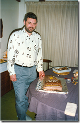 Alan Mager's winning the Walnut Valley Folk Festival autoharp contest in 1993