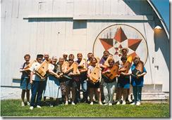 Capital 'Harpers Autoharp Club group photo at MLAG, 1996