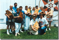 Capital 'Harpers Autoharp Club group photo at MLAG, 1998